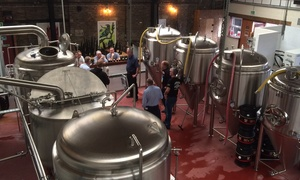 Brew York: Brewery Tour with Tasting and Optional Pork Pies and Pickles for Two or Four at Brew York