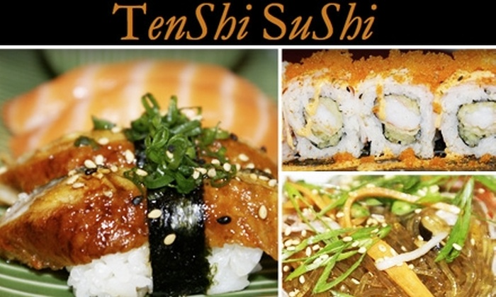 Tenshi Sushi & Japanese Noodle  - Steeplechase Corner: $15 for $35 Worth of Japanese Fare at Tenshi Sushi and Japanese Noodle