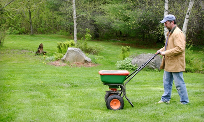 Weed Man - Rockford: $25 for Full Lawn-Fertilizing Treatment from Weed Man (Up to $64 Value)