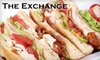 The Exchange - The Stadium District: $15 for $30 Worth of Casual Fare and Drinks at The Exchange