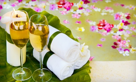 Champagne Mani-Pedi Package (a $105 value) - Caribbean Day Spa & Tanning in Las Vegas