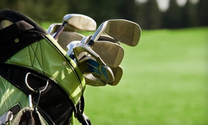 Kelowna Springs Golf Club - Highway 97: $11 for Two Golf-Club Detailing Packages at Kelowna Springs Golf Club ($22.40 Value)