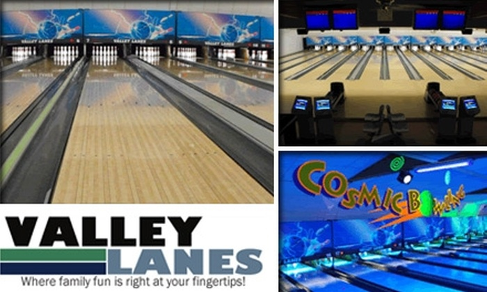 Valley Lanes - Raleigh West: $5 for Three Games and Shoe Rental at Valley Lanes Bowling