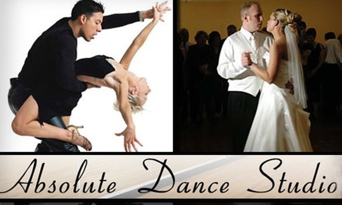 Absolute Dance Studio - Northeast San Antonio: $28 for a Month's Worth of Unlimited Dance Lessons at Absolute Dance Studio ($60 Value)