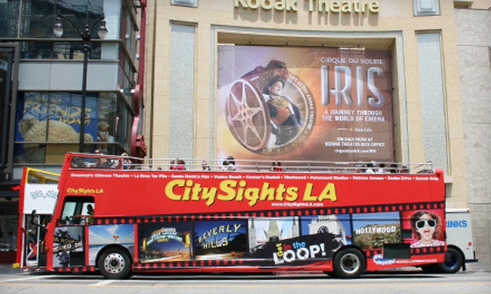 CitySights L.A. - Hollywood: $49 for Five-Day Sightseeing Pass for Beach and Hollywood Loops from CitySights L.A. ($125 Value)