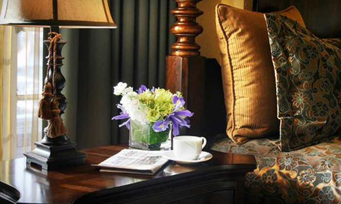 Hotel Baker - St. Charles: $89 for a One-Night Stay for Two, Plus Dining Credit, at Hotel Baker in St. Charles (Up to $189 Value)