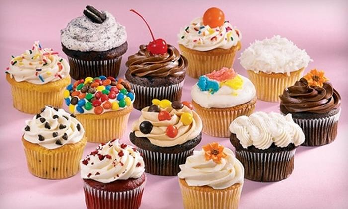 Sweet Indulgences - Dumont: $14 for One Dozen Cheesecake Cupcakes ($29 Value) or $11 for One Dozen Regular Cupcakes ($23 Value) at Sweet Indulgences in Dumont