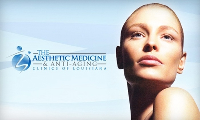The Aesthetic Medicine and Anti-Aging Clinics of Louisiana - South Baton Rouge: $98 for Three Laser Hair-Removal Sessions on One Body Area (Up to $600 Value) or $129 for One VelaShape Body Contouring Treatment ($500 Value) at The Aesthetic Medicine & Anti-Aging Clinics of Louisiana