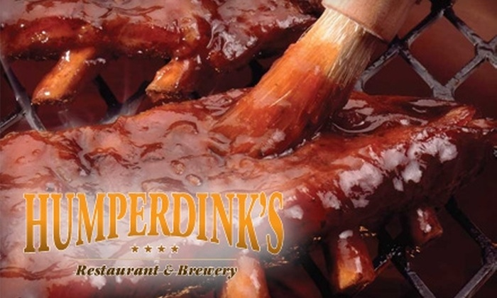 Humperdink's - Multiple Locations: $10 for $20 Worth of American Fare at Humperdink's