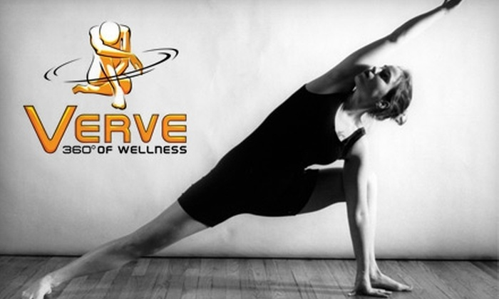 Verve Wellness - Downtown: $39 for One Month of Unlimited Pilates Classes at Verve Wellness ($89 Value)