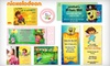Vistaprint **NAT**: 20, 30, or 40 Customizable Nickelodeon Invitations with Matching Envelopes and Stickers from Vistaprint (Up to 63% Off)