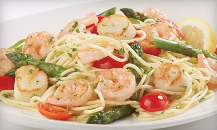 East Side Mario's - East End: $12 for $25 Worth of Italian Fare and Drinks at East Side Mario's