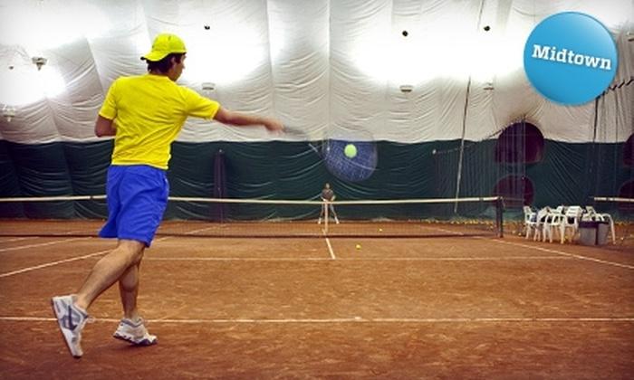 Sutton East Tennis Club - Upper East Side: Court Time at Sutton East Tennis Club. Two Options Available.