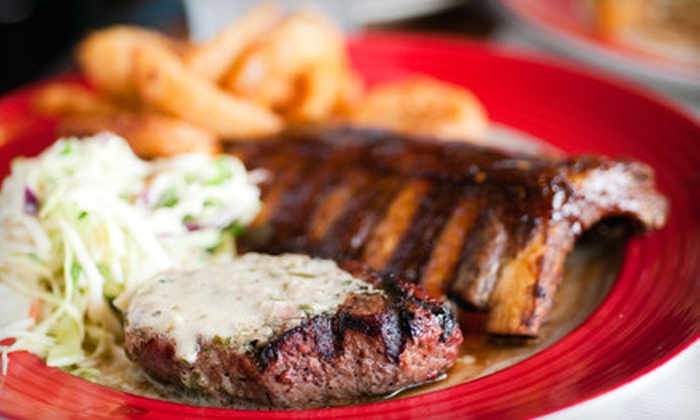 Soul Fixins' - Multiple Locations: Southern Meal with Sides, Desserts, and Drinks for Two or Four at Soul Fixins' (Up to 61% Off). Two Locations Available.