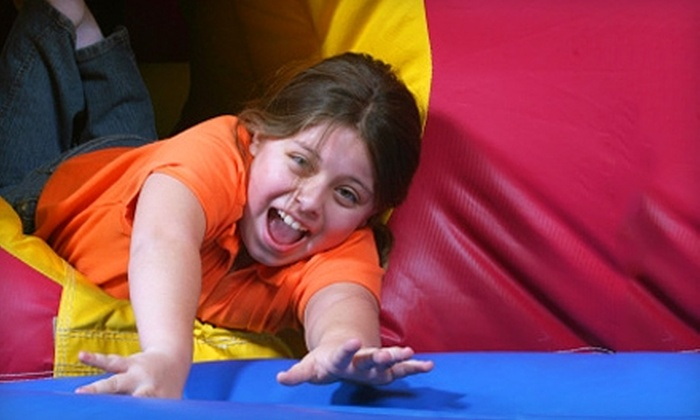 Jumpin' Jax Bounce & Party Center - Papillion: $25 for 10 Open-Bounce Sessions at Jumpin' Jax Bounce & Party Center in Papillion ($55 Value)