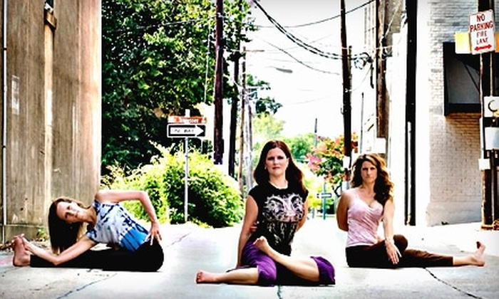 Brick House Yoga - Downtown Mckinney: $29 for One Month of Unlimited Yoga Classes at Brick House Yoga in McKinney ($85 Value)