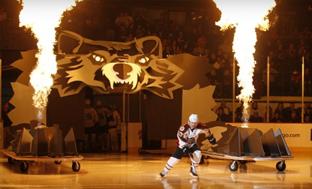 Chicago Wolves vs. Grand Rapids Griffins on Wed., Feb. 15 at 7PM: Sections 101, 104-109, or 112-116 - Chicago Wolves in Rosemont