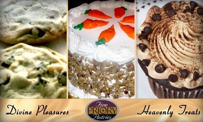 Priory Fine Pastries - East Allegheny: $10 for $20 Worth of Bakery Goods and Confections at Priory Fine Pastries