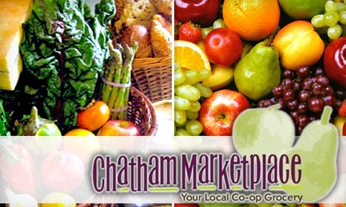 Chatham Marketplace - Pittsboro: $15 for $30 Worth of Locally Grown Produce, Groceries, and Meals at Chatham Marketplace