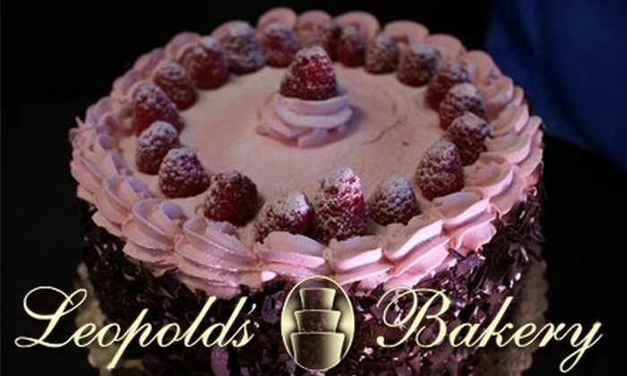 Leopold's Bakery - Summerlin: $10 for $20 Worth of Cakes, Pastries, Cookies, and More at Leopold's Bakery