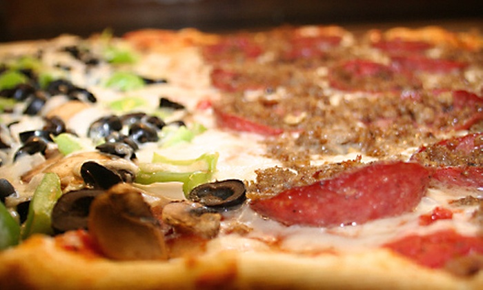 The Brick Oven Pizza & Cucina - North Bergen: $19 for Pizza Meal for Four at The Brick Oven Pizza & Cucina in North Bergen (Up to $39 Value)