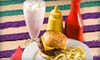 Burger Fresh - Multiple Locations: Burger Baskets and Ice-Cream Shakes for Two at Burger Fresh. Two Locations Available.
