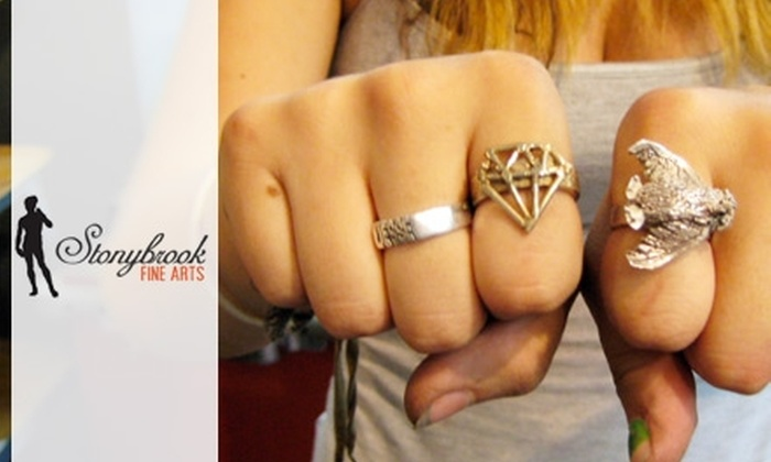 Stonybrook Fine Arts - Roxbury: $50 for a Ring Workshop ($100 Value), or $75 for a Welding Workshop ($150 Value) at Stonybrook Fine Arts in Jamaica Plain