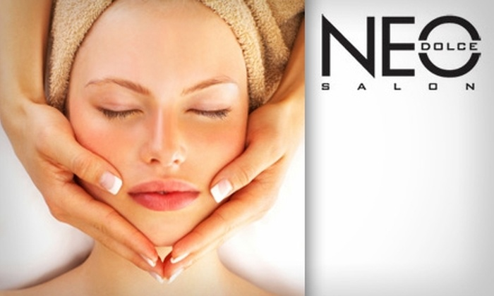 Neo Dolce Salon - Woodward Park: $30 for $70 Worth of Spa and Skin Services at Neo Dolce Salon
