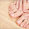 Up to 65% Off Mani-Pedis at Pure Rain Nail Spa