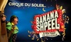 """The Chicago Theatre - Loop: $49 for a Ticket to """"Banana Shpeel"""" from Cirque du Soleil at The Chicago Theatre ($82 Value). Buy Here for Wednesday, 12/16, at 8 p.m. Other Dates and Times Below."""