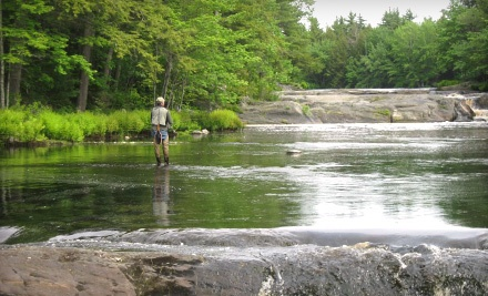 Day of Guided Fly-Fishing (a $75 value) Plus $25 Toward Cabin Rental - Milford House in South Milford