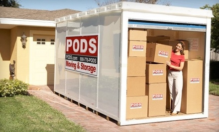 $150 Groupon to PODS Moving and Storage - PODS Moving and Storage in