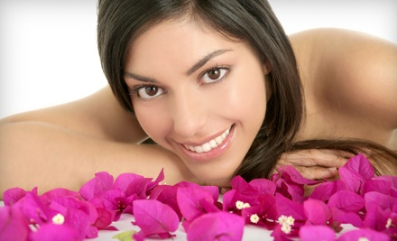 45-Minute Spa Pedicure, 60-Minute Stone Crop Hydration Facial, and a 30-Minute Back De-Stress Massage (a $175 total value) - Caesar Spa in Thorold