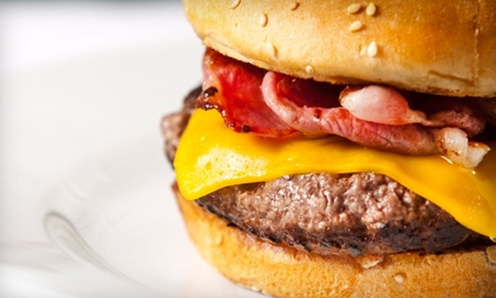 Henry's Burgers - Novato: $7 for $14 Worth of Diner Fare and Drinks at Henry's Burgers in Novato
