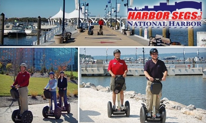 "Harbor Segs - Fort Washington: $24 for a One-Hour ""Let's Ride"" Segway Tour with Harbor Segs ($48 Value)"