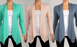 Spring Draped Cardigans. Multiple Colors Available. Free Returns.