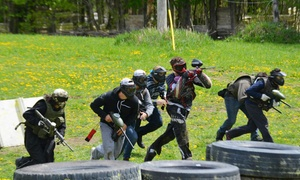 Marked Paintball: 24-Hour or Full-Weekend Offsite Laser-Tag Equipment Rental for 6, 10, 14, or 18 from Marked Paintball (Up to 58% Off)