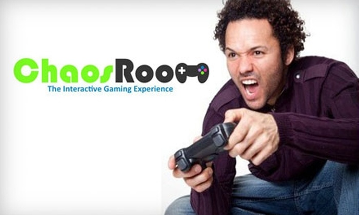 Chaos Room - Centerville: $5 for One Hour of Theater Gaming and 10 Arcade Tokens at Chaos Room in Centerville