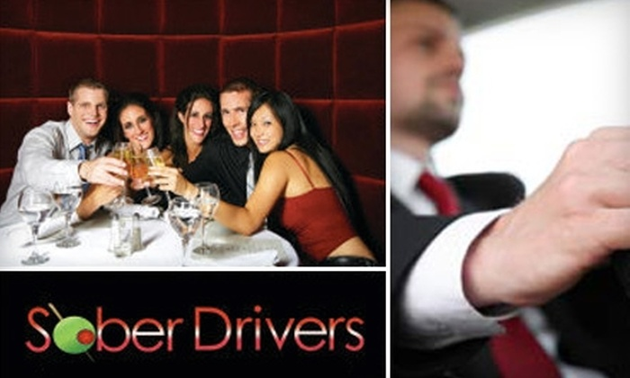 Sober Drivers - San Francisco: $25 for $50 Toward a Chauffeur Service in Your Own Vehicle in San Francisco from Sober Drivers (or $42 for $85 Toward Services in the Bay Area)