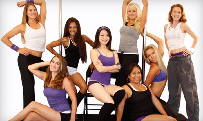 Sumara Pole - Miramar: Intro to Pole Dance Package or Lap-Dance Workshop at Sumara Pole (Up to 62% Off)