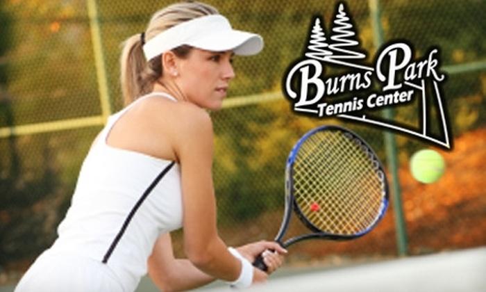 Burns Park Tennis Center - North Little Rock: $20 for a Six-Week Instructional Tennis Course at Burns Park Tennis Center in North Little Rock (Up to $45 Value)