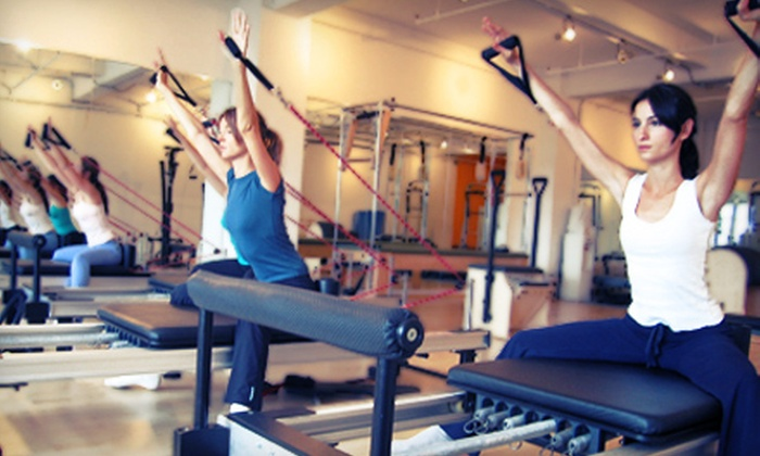 Beyond Pilates - Midtown West,Midtown,Theatre District: Group or Private Pilates Sessions at Beyond Pilates (Up to 75% Off). Three Options Available.