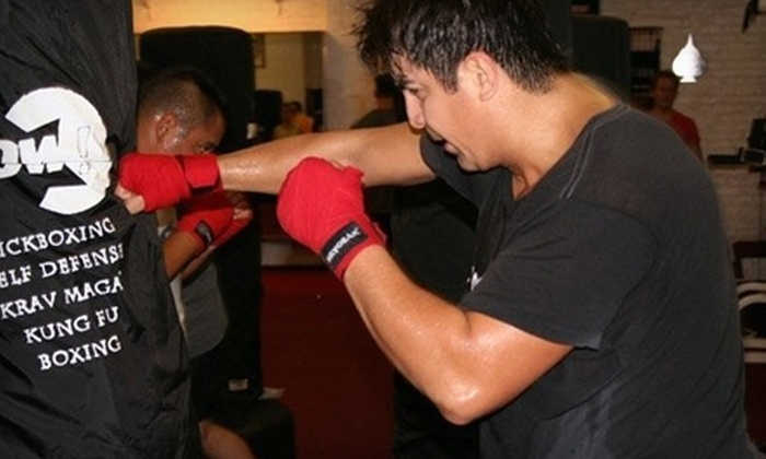 Pow! Mixed Martial Arts - West Loop: $40 for a Five-Class Adult or Youth Punch Card at Pow! Mixed Martial Arts ($90 Value)