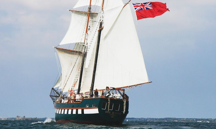 Bytown Brigantine - Ottawa: One-Day Tall Ship Voyage for One Passenger Ages 19 or Older or 12–18 from Bytown Brigantine (Up to 50% Off)