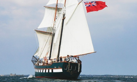 One-Day Tall Ship Voyage for One Passenger Ages 19+ or 12-18 from Bytown Brigantine (Up to 50% Off)