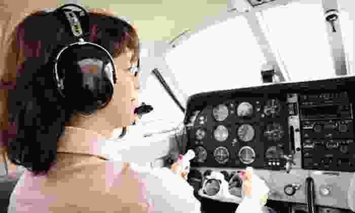 Miami Flight Seeing - Miami Flight Seeing: Discovery Flight Tour for One or Romance Airplane Tour for Two from Miami Flight Seeing (Up to 51% Off)