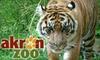 Half Off Family Membership to Akron Zoo