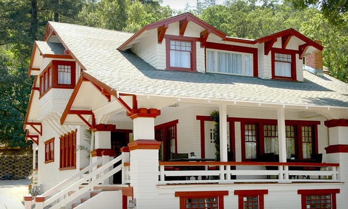Craftsman Inn - Napa Valley, CA: Two-Night Stay for Two, Valid Monday–Thursday, with Breakfast and Spa Credit at Craftsman Inn in Napa Valley
