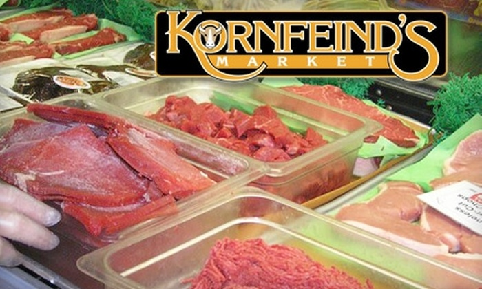Kornfeind's Market - North Whitehall: $5 for $15 Worth of Fine Meats and Groceries at Kornfeind's Market in Coplay