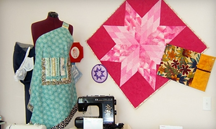 LA Sewing Group - Painswick South: Five-Class Summer Sewing Immersion Session at LA Sewing Group. Six Options Available.